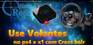 Cross Hair - Volantes no PS4 e Xbox One (Drive Force GT, G25, G27 e mais).
